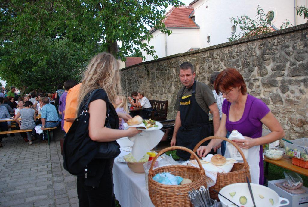 2010 Sommerfest, Biomarkt, Klausur